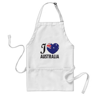 Amour de l Australie Tablier