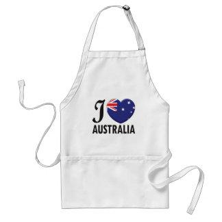 Amour de l'Australie Tablier