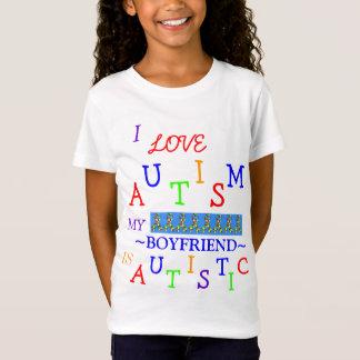 Amour de l'autisme de la fille ! T-shirt de la