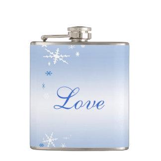 Amour de mariage d'hiver flasques