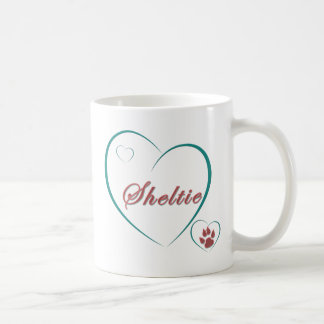 Amour de Sheltie Mugs À Café