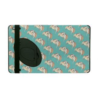 Amour de tortues de mer étui iPad