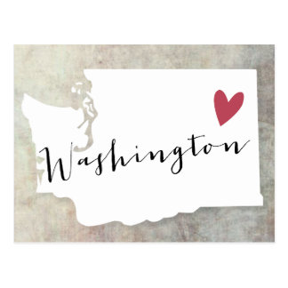 Amour de Washington Carte Postale