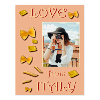 Amour d'Italie Carte Postale