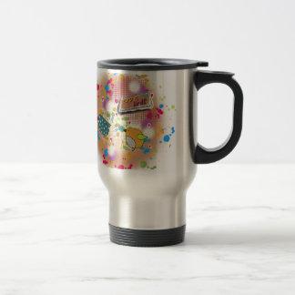 amour d'oiseau mug de voyage