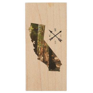 Amour Flashdrive de la Californie Clé USB 2.0 En Bois