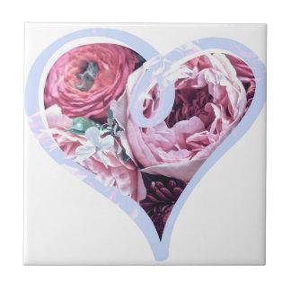 Amour floral carreau