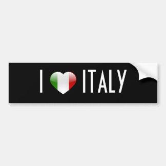 Amour Italie Autocollant De Voiture