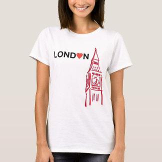 Amour Lond♥n - T-shirt de Big Ben