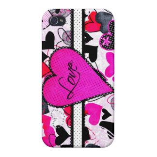 Amour mignon coques iPhone 4