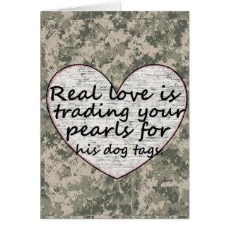 Amour militaire carte