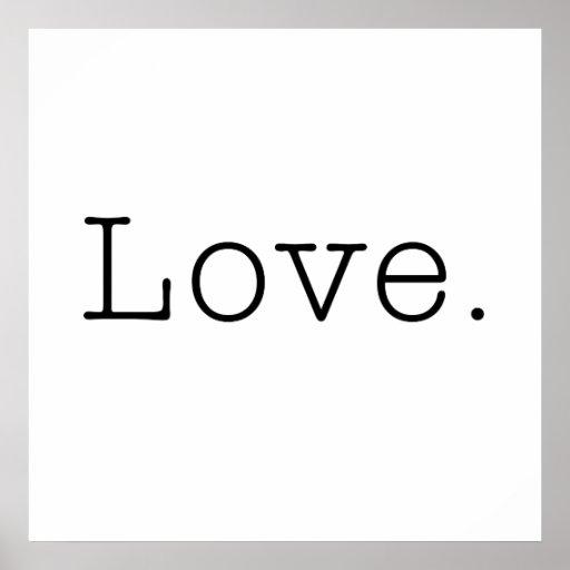 amour mod le noir et blanc de citation d 39 amour zazzle. Black Bedroom Furniture Sets. Home Design Ideas