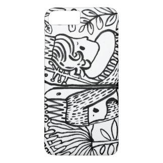 amour noir blanc IPHONE de jardin Coque iPhone 8 Plus/7 Plus