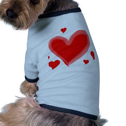amour tee-shirt pour toutou