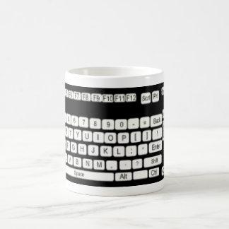 Amusement d'art de clavier d'ordinateur mug