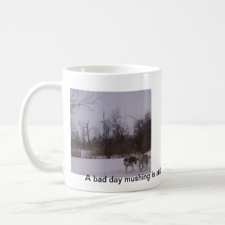 Amusement de Dogsledding Mug