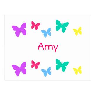 Amy Carte Postale