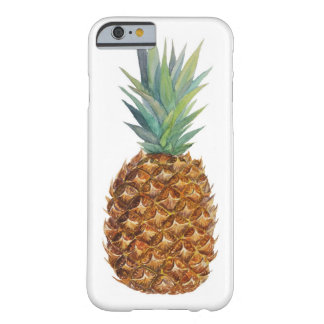 Ananas d'aquarelle coque iPhone 6 barely there