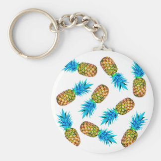Ananas de fantaisie porte-clés