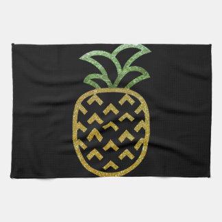 Ananas de scintillement serviette pour les mains