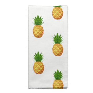 Ananas Ensemble-Tropical de serviettes