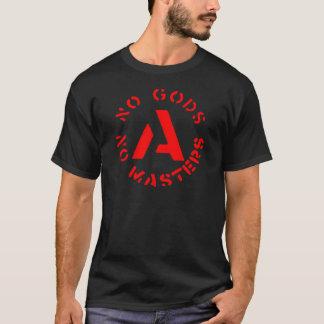 Anarchisme - aucuns dieux aucuns maîtres t-shirt