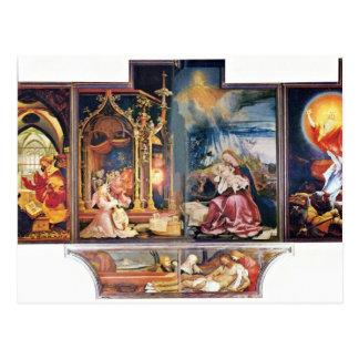 Ancien autel d'autel d'Isenheim dans l'Antonine Carte Postale