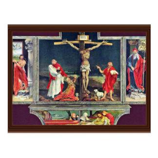 Ancien autel d'autel d'Isenheim dans l'Antonine Cartes Postales