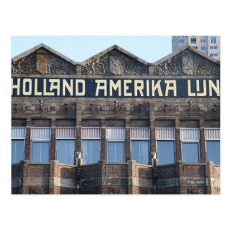 Ancien bureau de HAL, Rotterdam Carte Postale