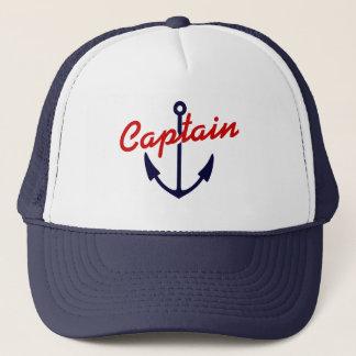 Ancre nautique de bleu marine du casquette | de