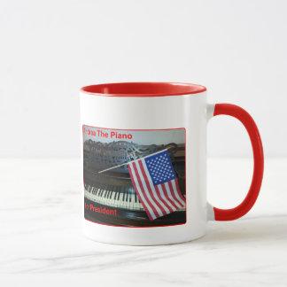 Andrea le piano pour le Président Mug