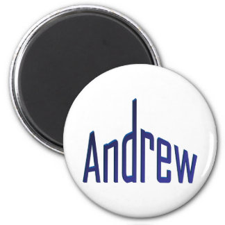 Andrew Magnet Rond 8 Cm