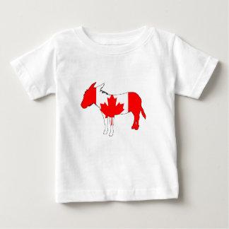 Âne Canada T-shirt Pour Bébé