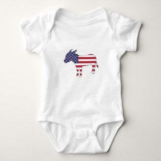 """Âne """"de drapeau américain"""" body"""