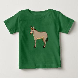 Âne d'illustration de vecteur t-shirt pour bébé