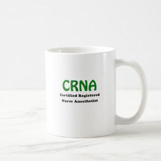 Anesthésiste d'infirmier autorisé certifié par mug