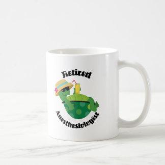 Anesthésiste retraité (tortue) mug