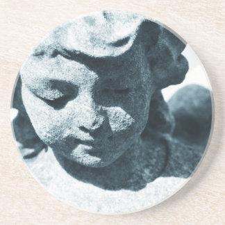 Ange Dessous De Verre En Grès