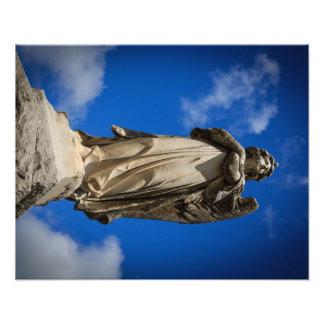 Ange en pierre photos sur toile