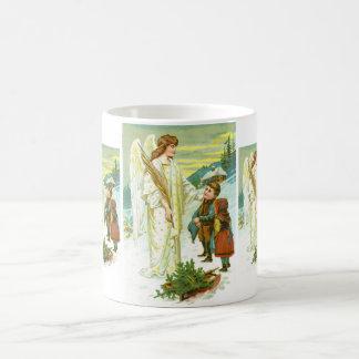 Ange et enfants mug