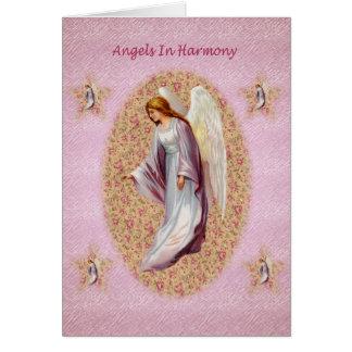 Anges dans la carte d'harmonie
