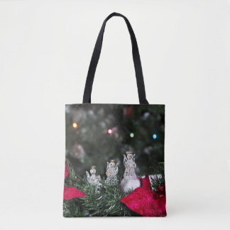 Anges de Noël de bénédiction Tote Bag
