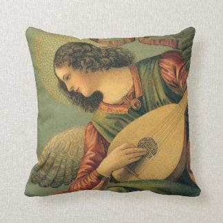 Anges vintages d'art de Renaissance par Melozzo DA Coussin