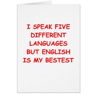 Multilingue cartes multilingue cartons d 39 cartons d - Carte de voeux en anglais ...