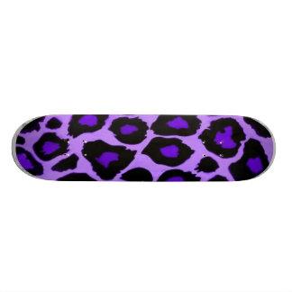 animal violet plateaux de skateboards customisés