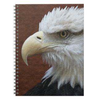 Animaux américains Etats-Unis de faune d'oiseau Carnet
