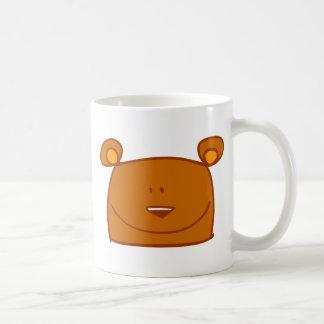 animaux mignons de bande dessinée - ours mug