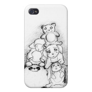 Animaux mignons iPhone 4/4S case