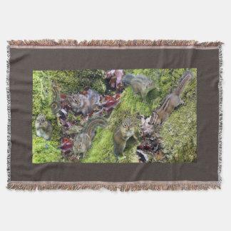 Animaux Orégon du nord-ouest de faune de tamia Couverture
