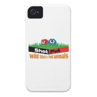 Animaux sauvages d'athlétisme coque Case-Mate iPhone 4